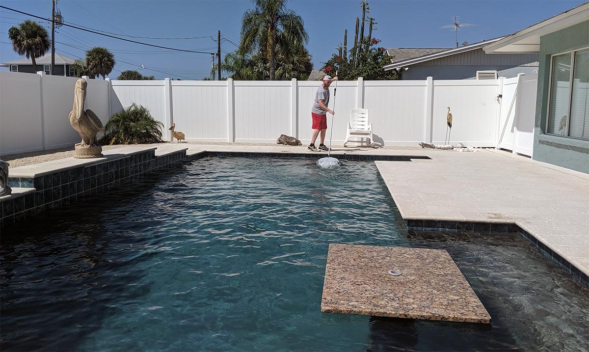 Can I clean my pool myself?