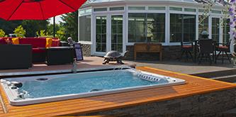 Hydropool Aquaplay Swim Spa in Nokomis FL Sarasota FL Swim Spas