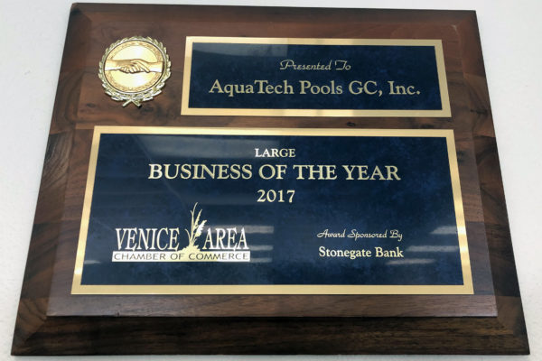 2017 Large Business of the Year Venice Chamber of Commerce