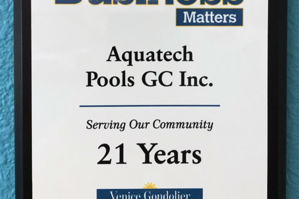 2019 Business Matters 21 Years Venice Gondolier