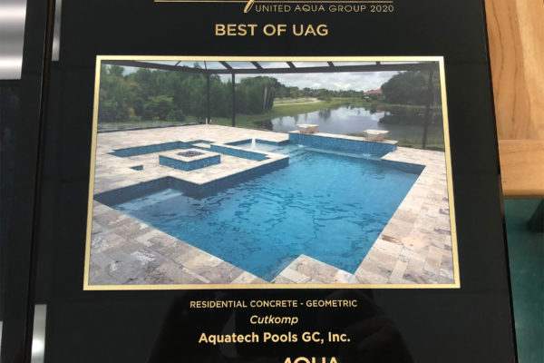 2020 Best of UAG Residential Concrete - Geometric - Cutkomp