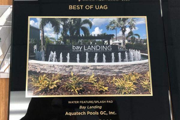 2020 Best of UAG Water Feature Splash Pad - Bay Landings