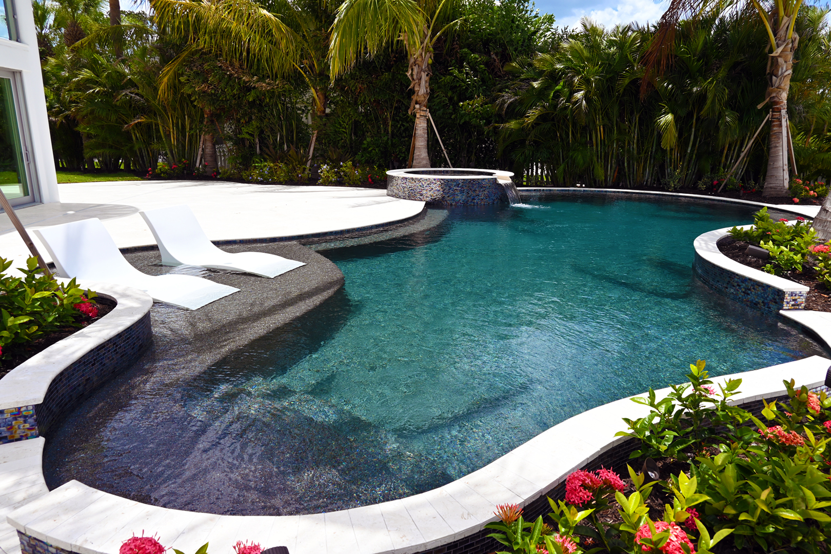 Freeform Pools Design Venice FL